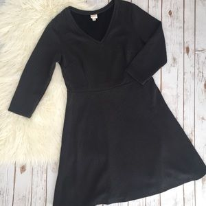 Merona charcoal grey sweater dress